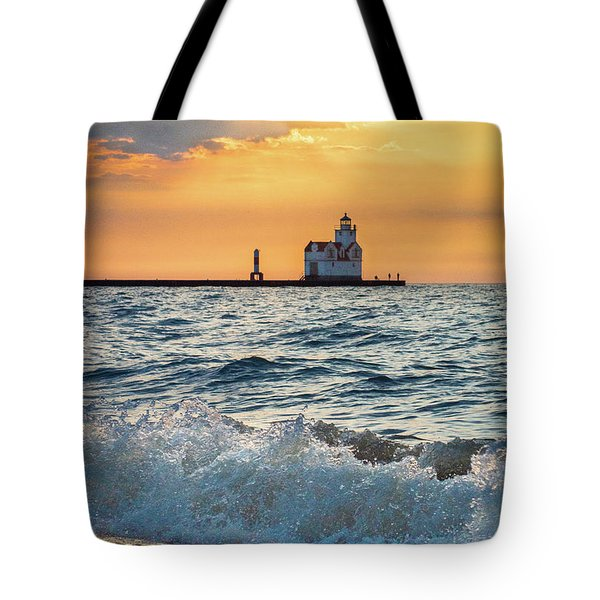 Morning Dance On The Beach Tote Bag