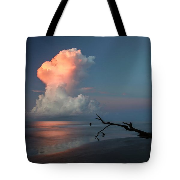 Tote Bag featuring the photograph Morning Glow by Ronald Santini