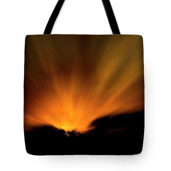 Morning Has Broken Tote Bag