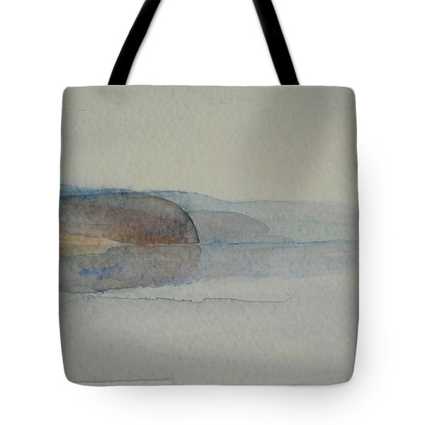 Morning Haze In The Swedish Archipelago On The Westcoast. Up To 36 X 23 Cm Tote Bag