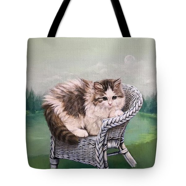 Morning Of The Beginning Tote Bag