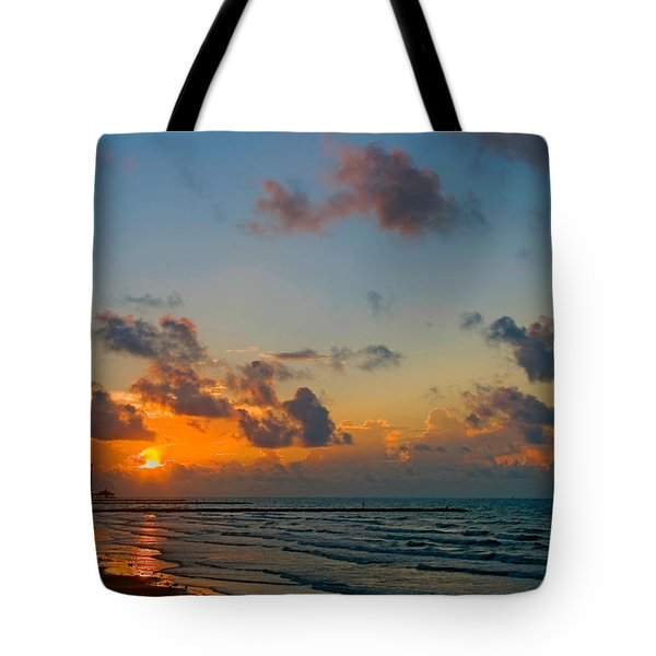 Morning On The Beach Tote Bag