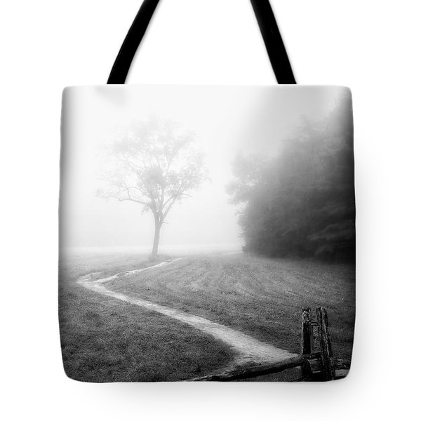 Morning Path Tote Bag