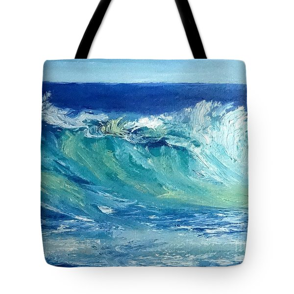 Morning Surf Tote Bag by Fred Wilson