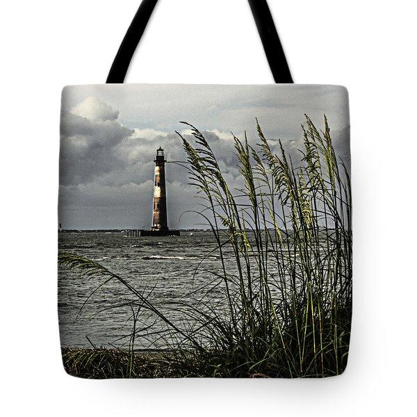 Morris Island Lighthouse Tote Bag