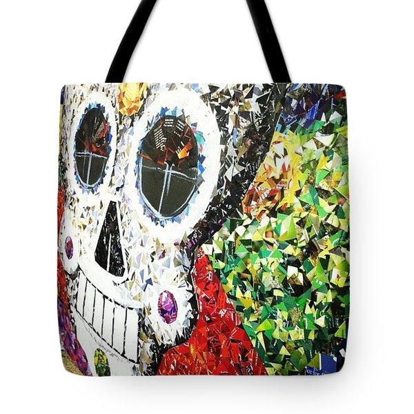 #mosaic #decoupage #collage #hood Tote Bag