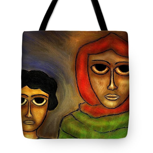 Mother And Child Tote Bag by Rafi Talby