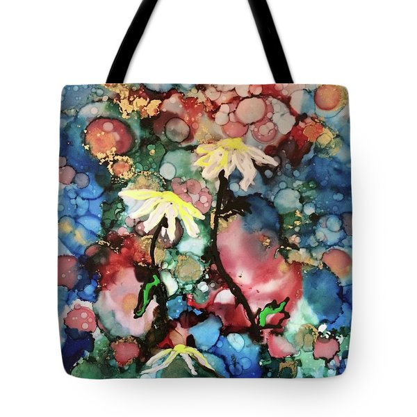 Tote Bag featuring the painting Mothers Day by Denise Tomasura