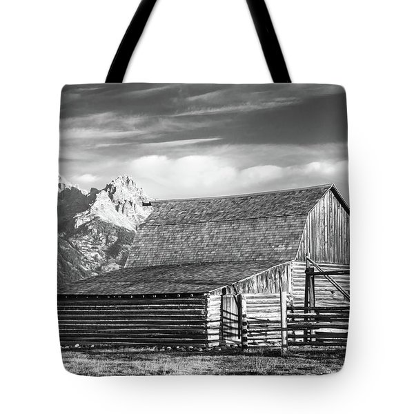 Tote Bag featuring the photograph Moulton Homestead - Barn by Colleen Coccia