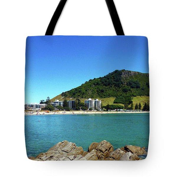 Mount Maunganui Beach 10 - Tauranga New Zealand Tote Bag