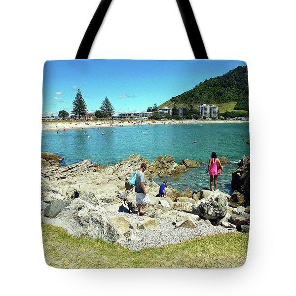 Mount Maunganui Beach 12 - Tauranga New Zealand Tote Bag