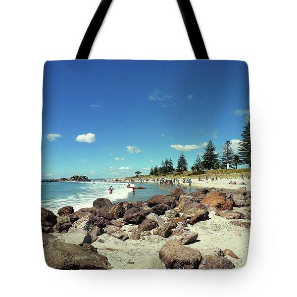 Mount Maunganui Beach 2 - Tauranga New Zealand Tote Bag