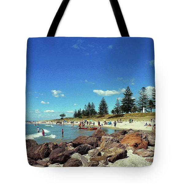 Mount Maunganui Beach 6 - Tauranga New Zealand Tote Bag