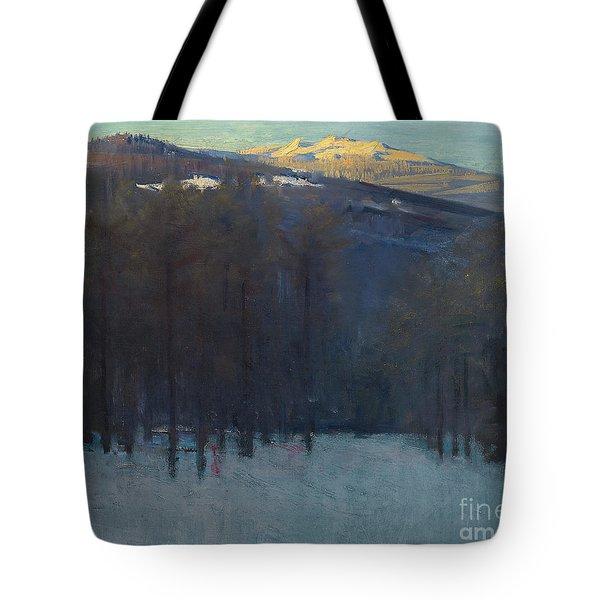 Mount Monadnock Tote Bag