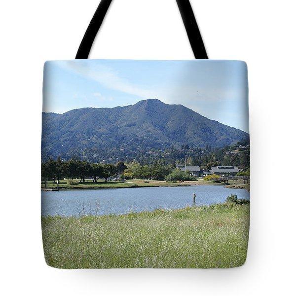 Mount Tamalpais Tote Bag by Ben Upham III