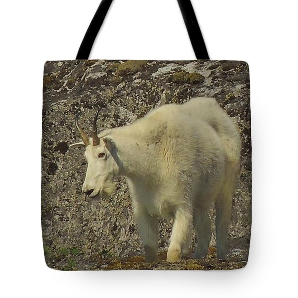 Mountain Goat Ewe Tote Bag