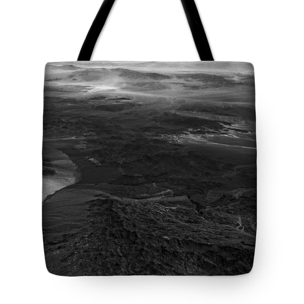 Mountains And Desert Tote Bag