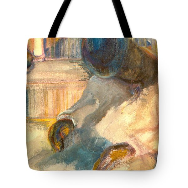 Mr Hunters Porch Tote Bag by Daun Soden-Greene