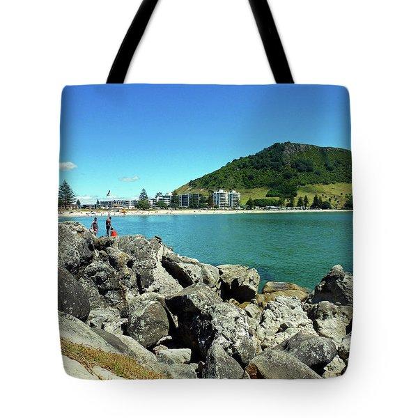 Mt Maunganui Beach 11 - Tauranga New Zealand Tote Bag