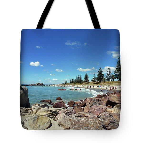 Mt Maunganui Beach 3 - Tauranga New Zealand Tote Bag