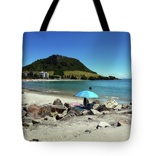 Mt Maunganui Beach 5 - Tauranga New Zealand Tote Bag