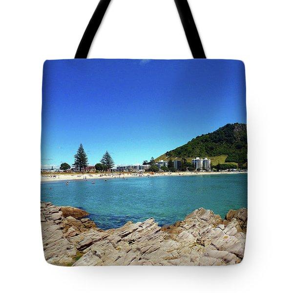 Mt Maunganui Beach 9 - Tauranga New Zealand Tote Bag