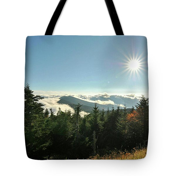 Mt Mitchell Landscape Tote Bag