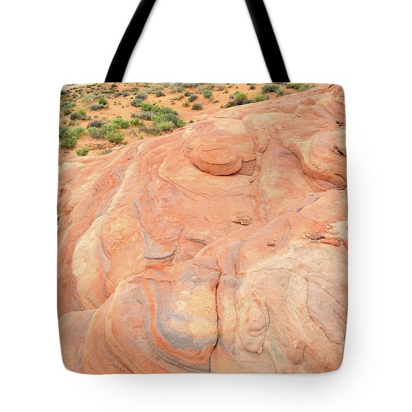 Tote Bag featuring the photograph Multicolored Wave In Valley Of Fire by Ray Mathis