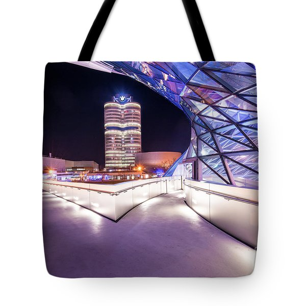Munich - Bmw Modern And Futuristic Tote Bag
