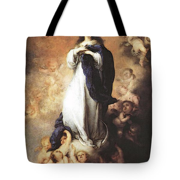 Murillo Immaculate Conception  Tote Bag