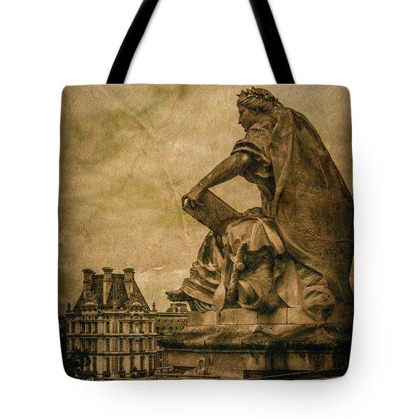 Paris, France - Muse Tote Bag