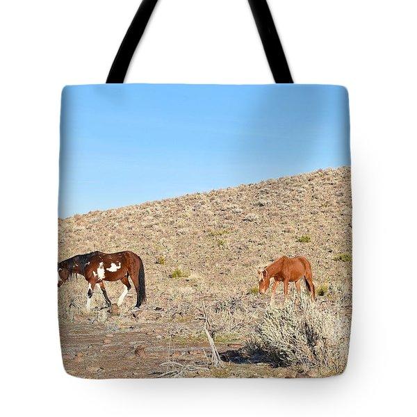 Mustangs Tote Bag