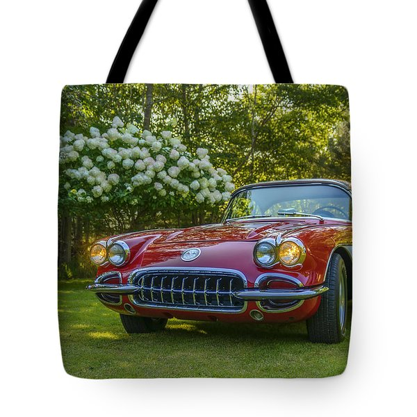 My 1960 Corvette Tote Bag