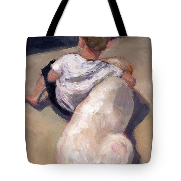 My Beau Tote Bag by Molly Poole