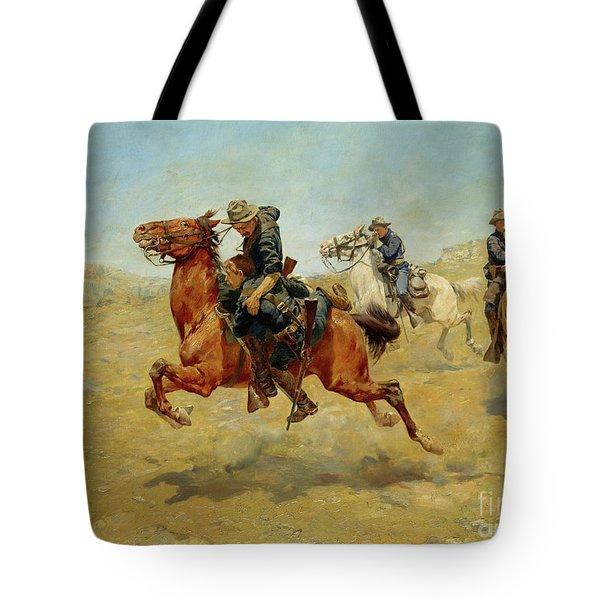 My Bunkie, 1899 Tote Bag