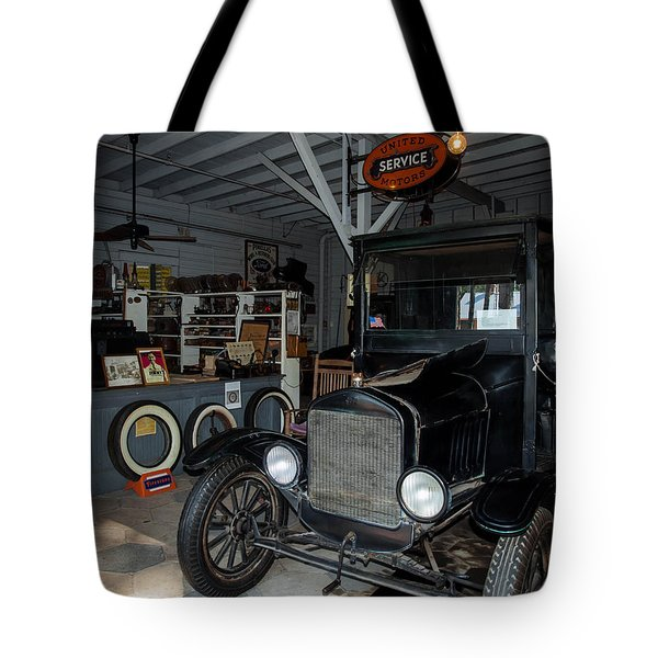 My Garage Tote Bag