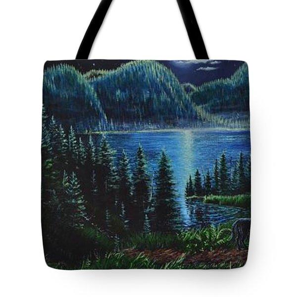 My Little Secret Tote Bag by Michael Wawrzyniec