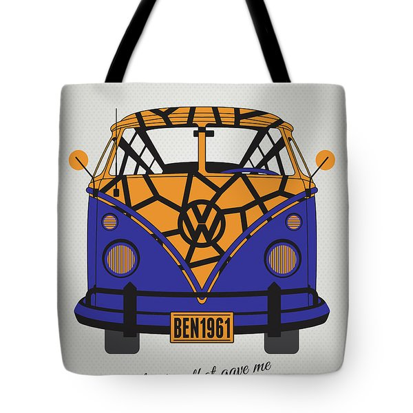 My Superhero-vw-t1-the Thing Tote Bag