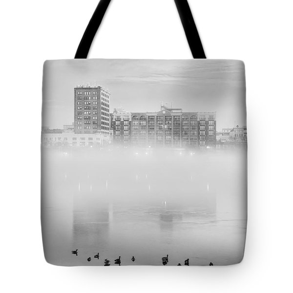 Mysty River Tote Bag