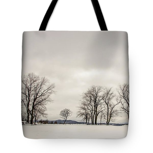 Naked Treeline Tote Bag