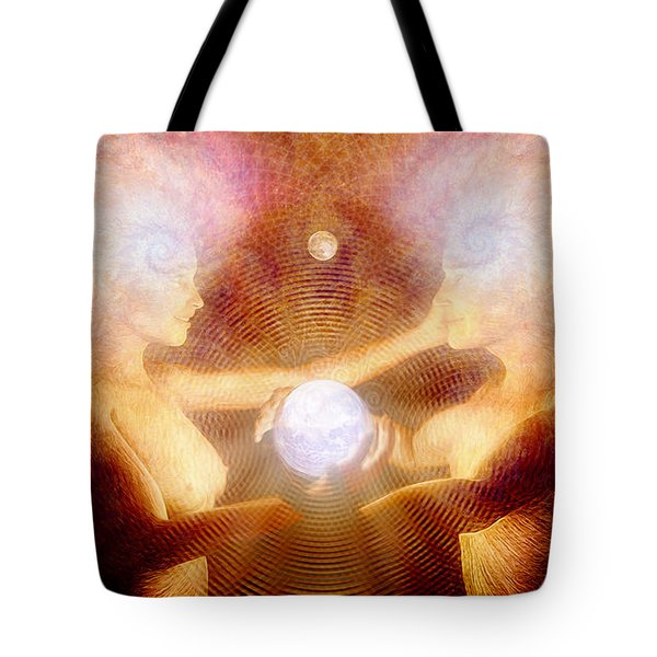 Namaste Tote Bag by Robby Donaghey