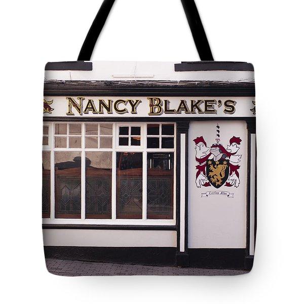 Nancy Blake's Irish Pub Tote Bag