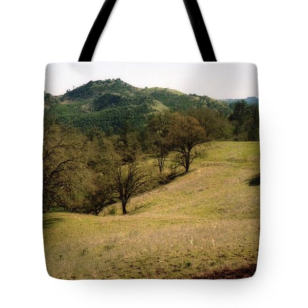 Napa Valley Hills Tote Bag