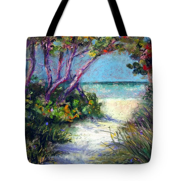 Naples On Third Tote Bag by Laurie Paci