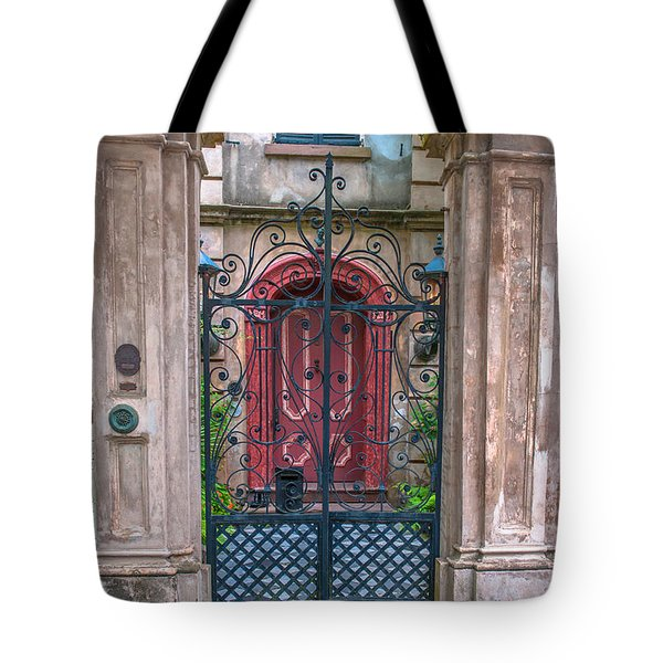 Narrow Is The Gate Tote Bag