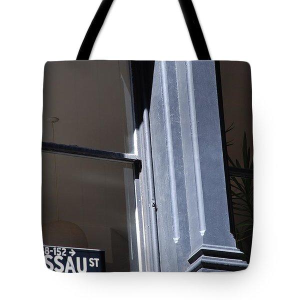 Nassau Street Tote Bag by Rob Hans