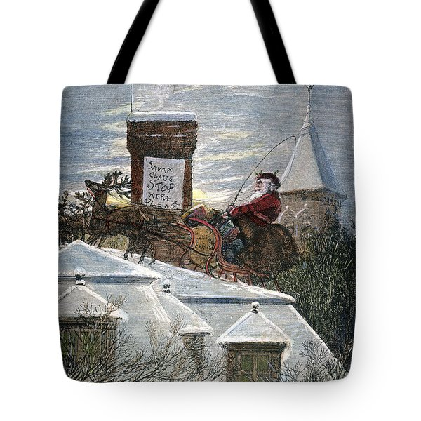 Nast: Santa Claus Tote Bag by Granger