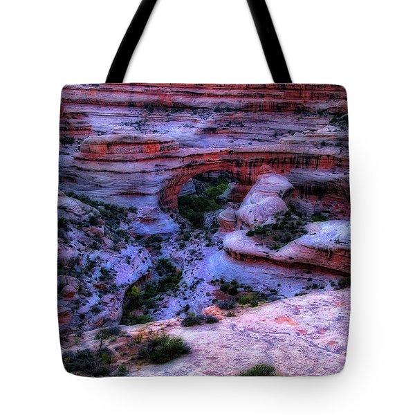 Natural Bridges National Monument Tote Bag