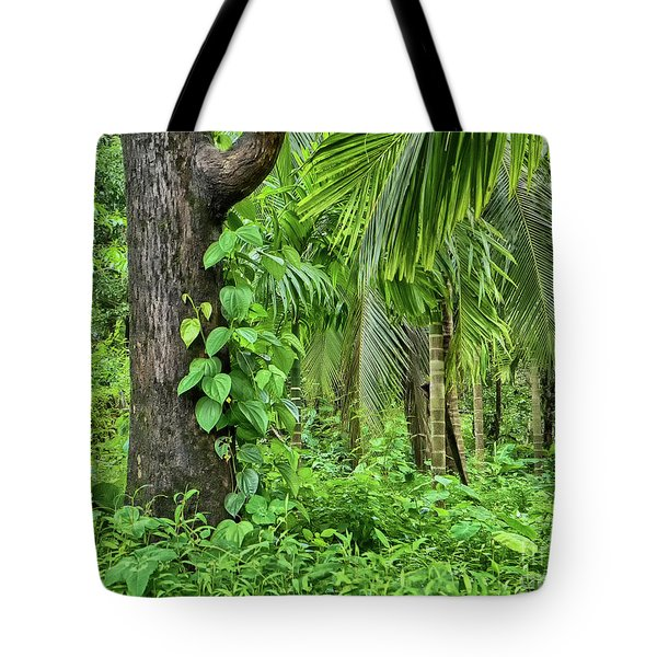Tote Bag featuring the photograph Nature 7 by Charuhas Images