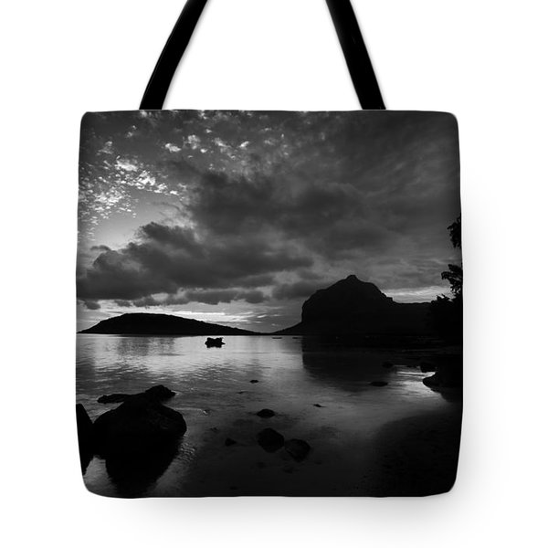 Near Le Morne Tote Bag